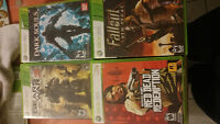 jeux de XBOX 360/XBOX 360 games to sell