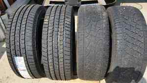 Set of Four 275 55R20 Tires