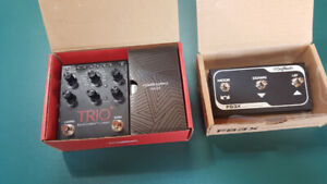 Looper pedal Digitech Trio plus and Fs3X footswtch