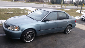 1999 Honda Civic SE. Private Sale. No Engine light. As Is 700