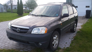 Mazda tribute pour pieces ou route