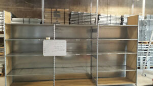 SHELVING SHELVING SHELVING GALVANIZED MANY SIZES EASY TO BUILD