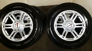 Winter Tires w/ Rims For Dodge & Jeep Mounted (Like New)