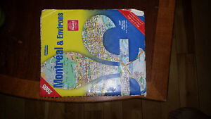 Montreal map book