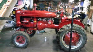 Farmall A with mower