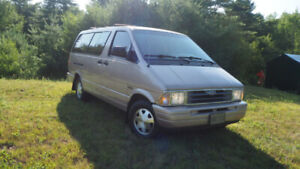 1996 ford aerostar extended van ALL WHEEL DRIVE solid
