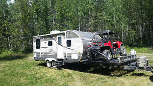2014 Front Deck Toy Hauler Z-1 by Crossroads