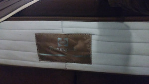 King size Sealy Posturepedic mattress and box spring