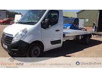 VAUXHALL MOVANO F3500 L3H1 CDTI, White, Manual, Diesel, 2011 Recovery Truck