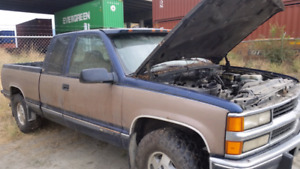 1995 CHEV diesel 4×4