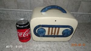 "RE CONDITIONED VINTAGE TUBE RADIOS  ""SHOP OPEN SAT 17th"""