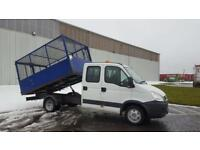2011 11 PLATE IVECO DAILY 35C14 TIPPER PICK UP.