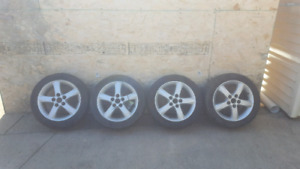 Mazda wheels with summer tires
