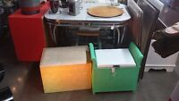SHABBY CHIC FURNITURE - CHAIRS, TABLES, DRESSERS, GREAT COLORS