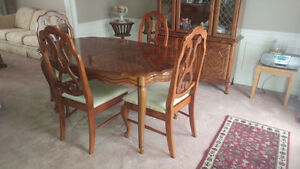 Dining Room Set with Buffet and Hutch
