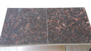 "Granite tiles: Tan Brown 12"" × 12"" polished"