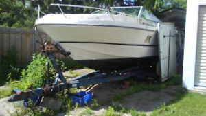 27 foot boat and trailer