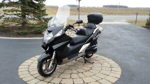 Moto Honda Silver Wing