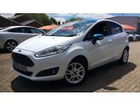 2016 Ford Fiesta 1.25 82 Zetec White (Nav) 5dr Manual Petrol Hatchback