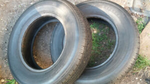 R14 TRAILER TIRES..PAIR FOR $50