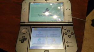 NEW Nintendo 3DS  XL (Modded) + Accessories