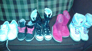 Size 1 sneakers and boots