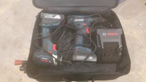 Bosch drill/driver/impact combo kit