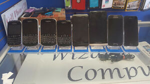 Selection of Used Phones Sold by Reputable Business
