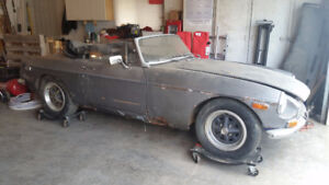 3 MGB project cars for sale