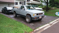 1983 chevy s10 4x4 great shape new motor.