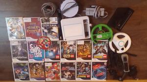 Wii bundle $250 o.b.o