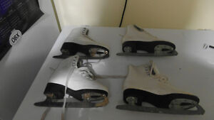 Girls Figure skates Size 1 - $10 each pair
