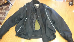 veste de moto pour homme pade rigide