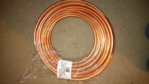 50 Foot roll 1/2in refrigeration copper coil from aqua-dynamic