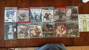 PS3 games and wii