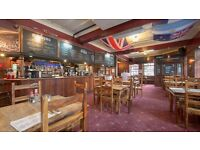 Head Chef/Kitchen Manager required for busy tourist pub in Padddington