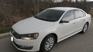 2013 PASSAT 2.0L TDI  6-SPEED DSG LOW KMS.