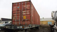 Excellent Shape Storage and Shipping Containers - SeaCans!