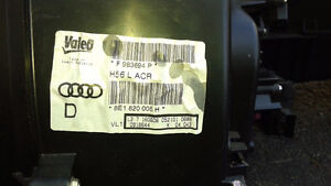 A4 B7 HEATER CORE CLIMATE BOX BLOWER MOTOR ASSEMBLY 8E1820005H West Island Greater Montréal image 3