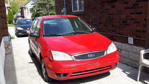 2006 Ford Focus Hatchback AS IS