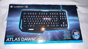 Logitech G310 illuminated compact mechanical gaming  keyboard