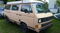 Volks westfalia 85 GL 1.9L manuel besoin bodyjob et inspection