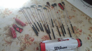 Wilson Golf bag and Clubs for sale