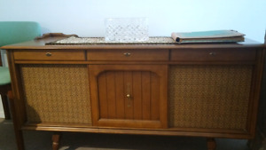 Console table basse style vintage