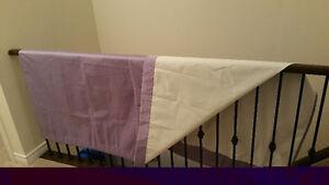 Purple Curtains - Child's Room