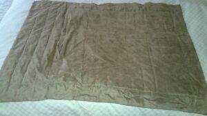 Queen Size Duvet Cover with Bed Shirt & Two Pillow Shams-Taupe