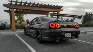 Auto! Nissan Skyline R34 GT-T Nismo Turbo LOW KM!
