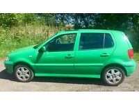 AUTOMATIC VW POLO 5 DOOR 1.4L (2001) year mot low 55k miles