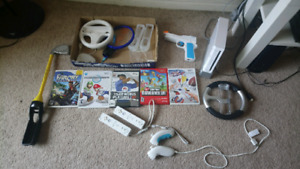 Nintendo wii with lots, Excellent condition