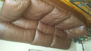 Causeuse sofa simili cuir